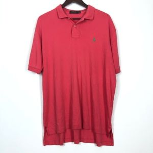Ralph Lauren Polo Shirt Men's XL Pink